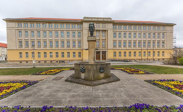 Rathaus von Eisenhüttenstadt, Foto: TMB-Fotoarchiv/Steffen Lehmann