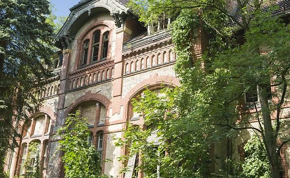 Außenansicht Beelitz - Heilstätten, Foto: TMB - Fotoarchiv / Steffen Lehmann