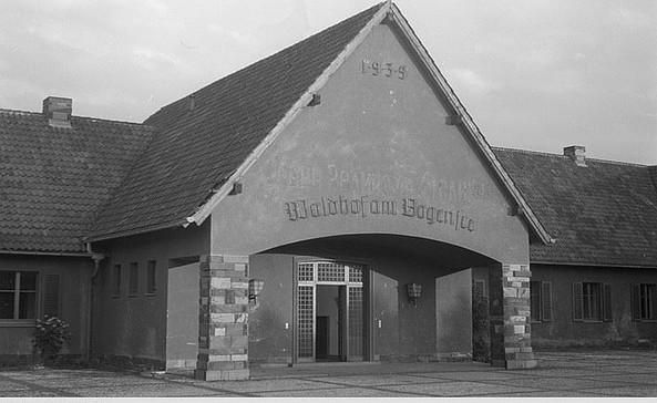 FDJ-Hochschule am Bogensee Sommer 1946, Foto: Abraham Pisarek