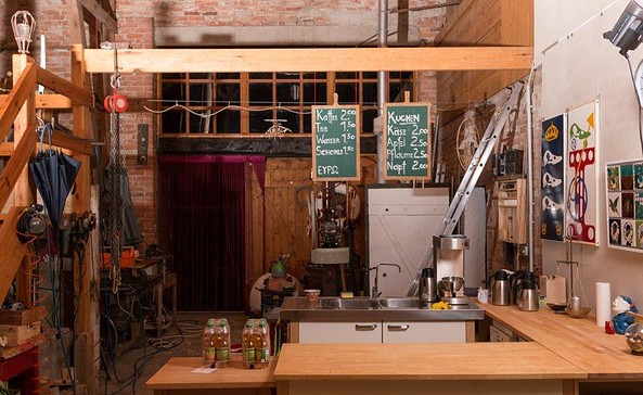 Café Louisenhof, Foto: A. Tucholke