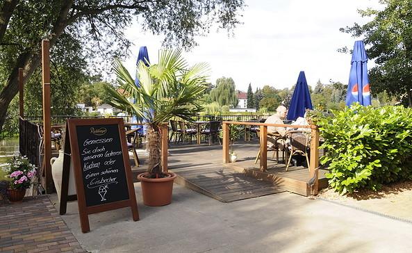 Havelrestaurant Schwedendamm, Foto: Tourismusverband Havelland