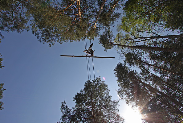 CLIMB UP! - Kletterwald ® - Seiltänzer