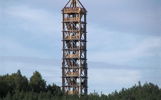 Aussichtsturm Blumenthaler - Einer der höchsten hölzernen Aussichtstürme Deutschlands