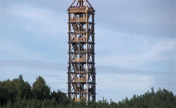 Blumenthaler Aussichtsturm - Einer der höchsten hölzernen Aussichtstürme Deutschlands