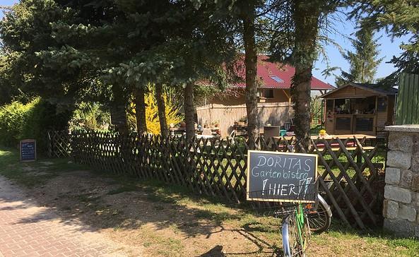 Doritas Gartenbistro in Stegelitz, Foto: Anja Warning