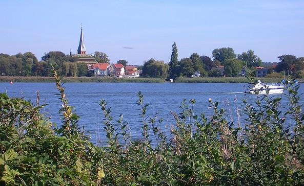 Blick auf Geltow, Foto: Schwielowsee Tourismus