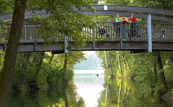"2. Etappe ""Radweg Berlin-Usedom-Wollin-Stettin"": Biesenthal - Joachimsthal"