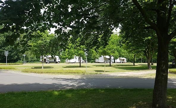 Wohnmobilstellplatz am Rosengarten, Foto: Diana Priel