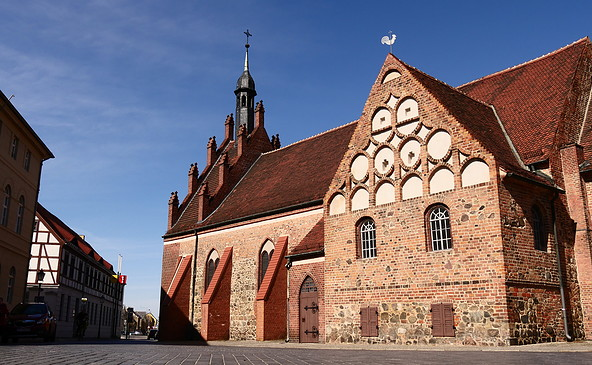 St. Johanniskirche Luckenwalde, Foto: Catharina Weisser