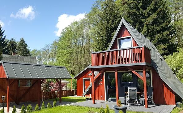 Ferienhaus am Lübbesee, Foto Simone Brose