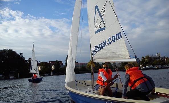 Segelboot, Foto: Aufs-Wasser.com