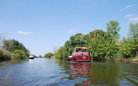 Hausboottour durch den Naturpark Westhavelland
