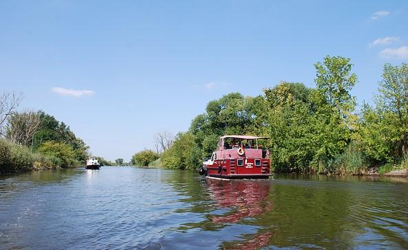 Hausboottour durch den Naturpark Westhavelland, Foto: TV Havelland e.V.