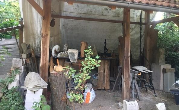 Atelier Püschel und Burghardt in Schöneiche bei Berlin, Foto: Ulf Püschel