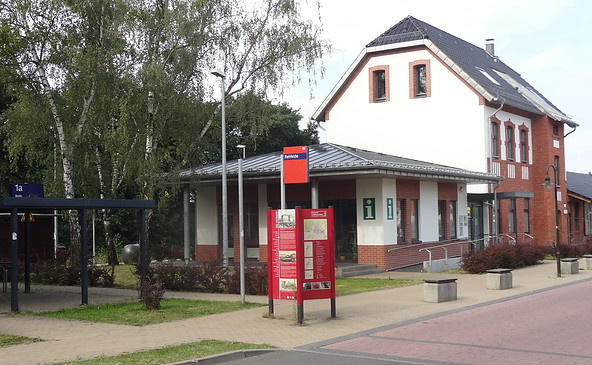 Tourismuspavillon Rehfelde, Foto: Hans-Günther Hoffmann
