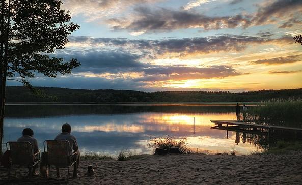 Badestelle Großer Glubigsee, Foto: Seenland Oder-Spree/Angelika Laslo