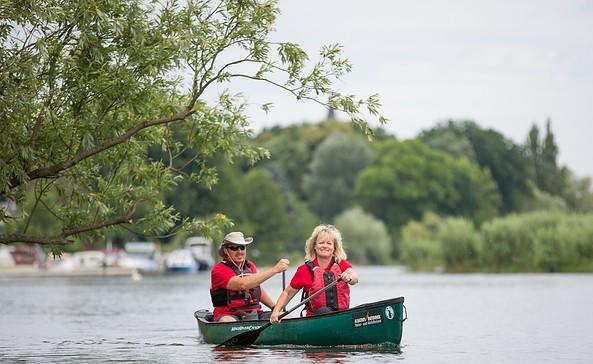 Kanutour auf der Müggelspree, Foto: Seenland Oder-Spree/Florian Läufer