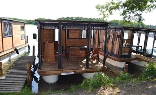 Hausboot, Foto: Uwe Lehmann