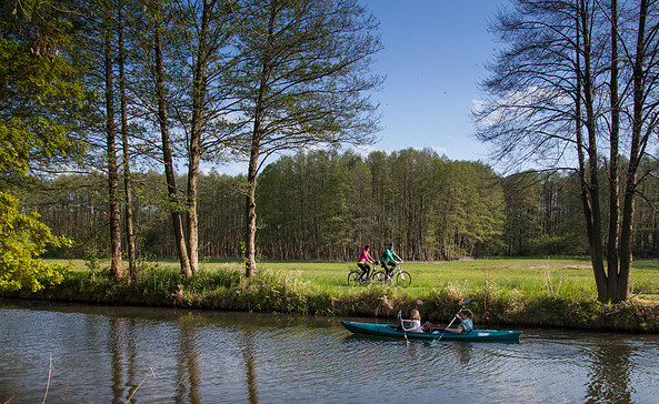 Radeln in Spreewälder Idylle, Foto: Peter Becker