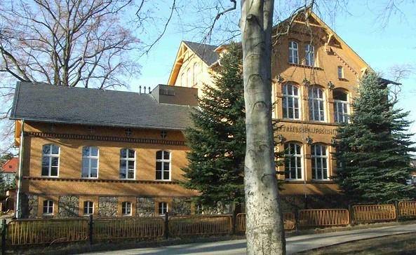 Außenansicht des Kunstgussmuseums in der alten Bronzeschule, Foto: Kunstgussmuseum Lauchhammer