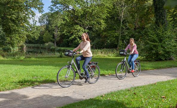Gemütliche Fahrradtour im Spreewald, Foto: Peter Becker