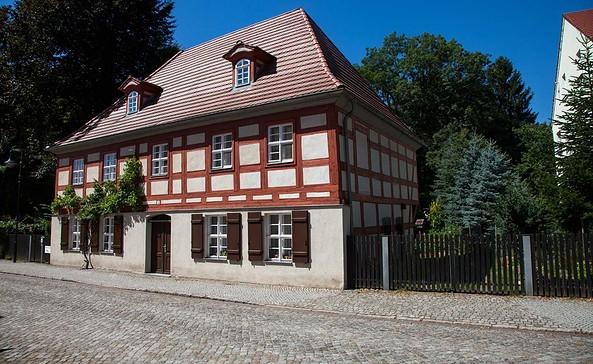Das älteste Haus der Stadt in der Schlossstraße, Foto: Peter Becker