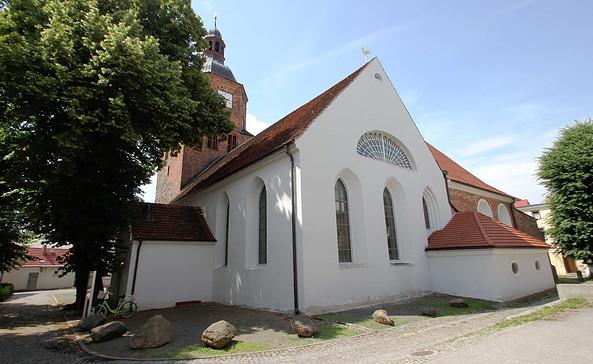 Wendisch-Deutsche Doppelkirche in Vetschau/Spreewald, Foto: Stefan Laske