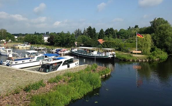 Stadthafen Liebenwalde, Foto: Johanna Braune