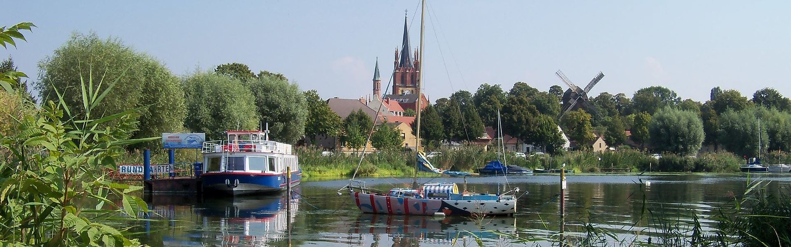 Werder (Havel) im Sommer (1920 x 600 px), Foto: Yvonne Schmiele