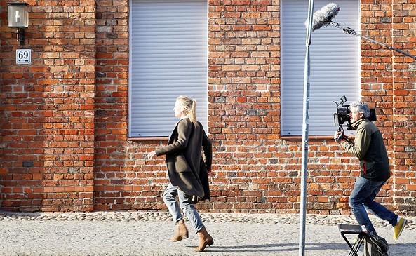 Filmdreh in Potsdam, Foto: PMSG/ André Stiebitz