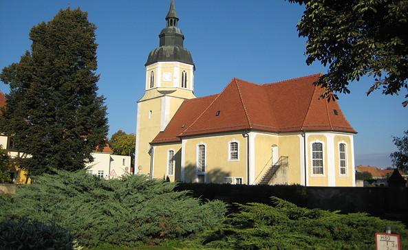 St.-Georgs-Kirche Großkmehlen © Amt Ortrand