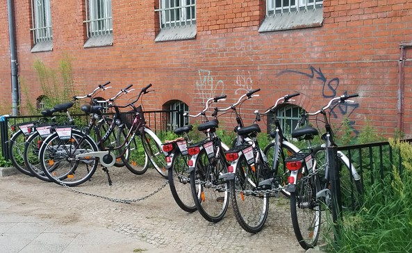 Fahrradverleih LandRad-Station Bernau, Foto: Annelie Staubach/Olaf Falk