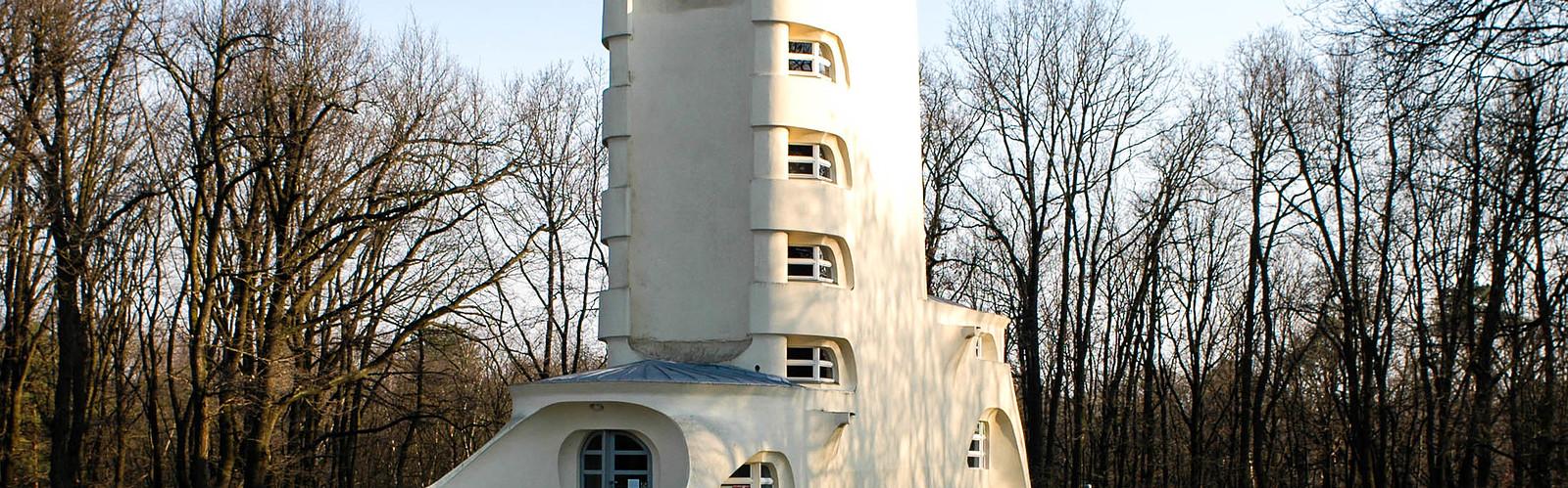 Einsteinturm - Barbara Plate