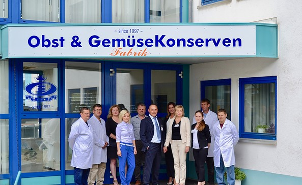 Team der schorfheider Konservenmanufaktur, Foto: ALDIM Trading Company GmbH & Co. KG