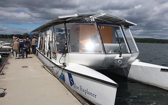 Umweltbildung auf dem Forschungsschiff Solar Explorer