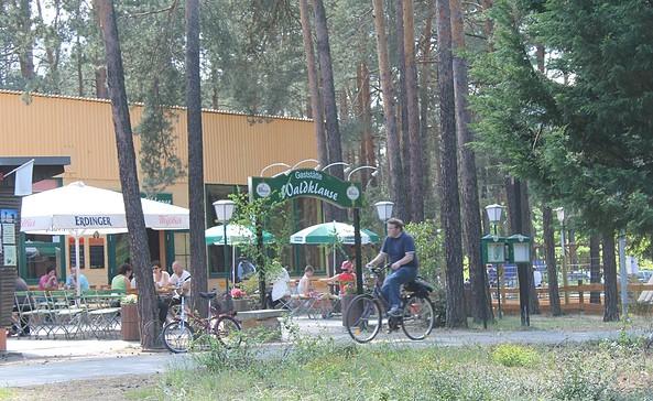 Die Waldklause auf dem Campingplatz in Zaue, Foto: TEG
