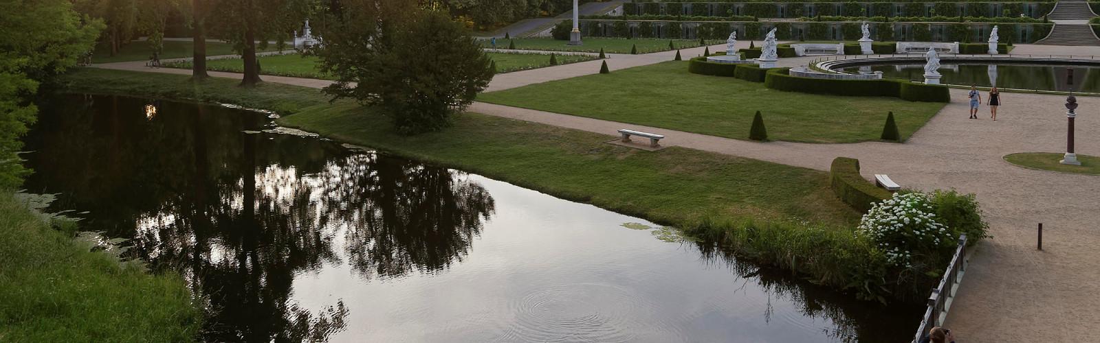 Statue im Park Sanssouci (C) SPSG PMSG André Stiebitz