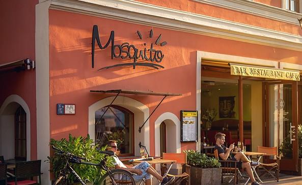 Ansicht vom Altmarkt © Mosquito Bar & Restaurant & Café Cottbus
