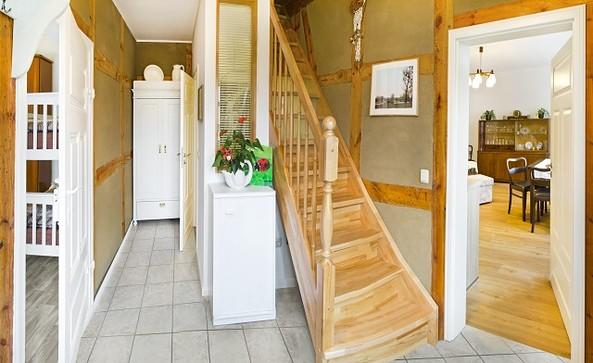 Eingangsbereich der Ferienwohnung Zur Breiten Karthane