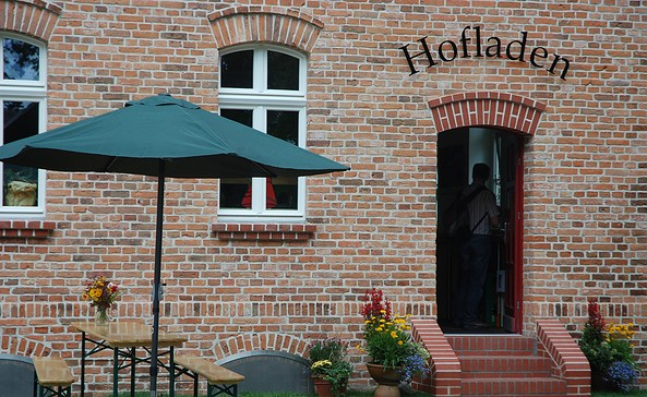 Gläserne Molkerei Hofladen, Foto: Gläserne Molkerei