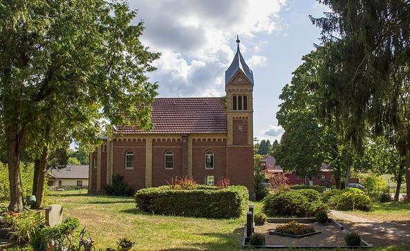 Dorfkirche in Zechlinerhütte bei Rheinsberg, Foto: ScottyScout