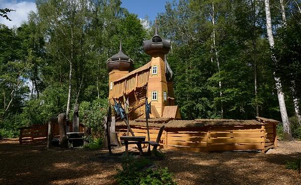 Zarenschloss im Familiengarten, Foto: Familiengarten Eberswalde