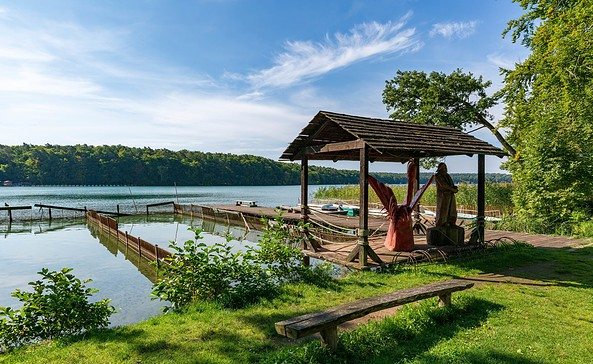 Fischerei am Stechlinsee, Foto: TMB-Fotoarchiv/Steffen Lehmann