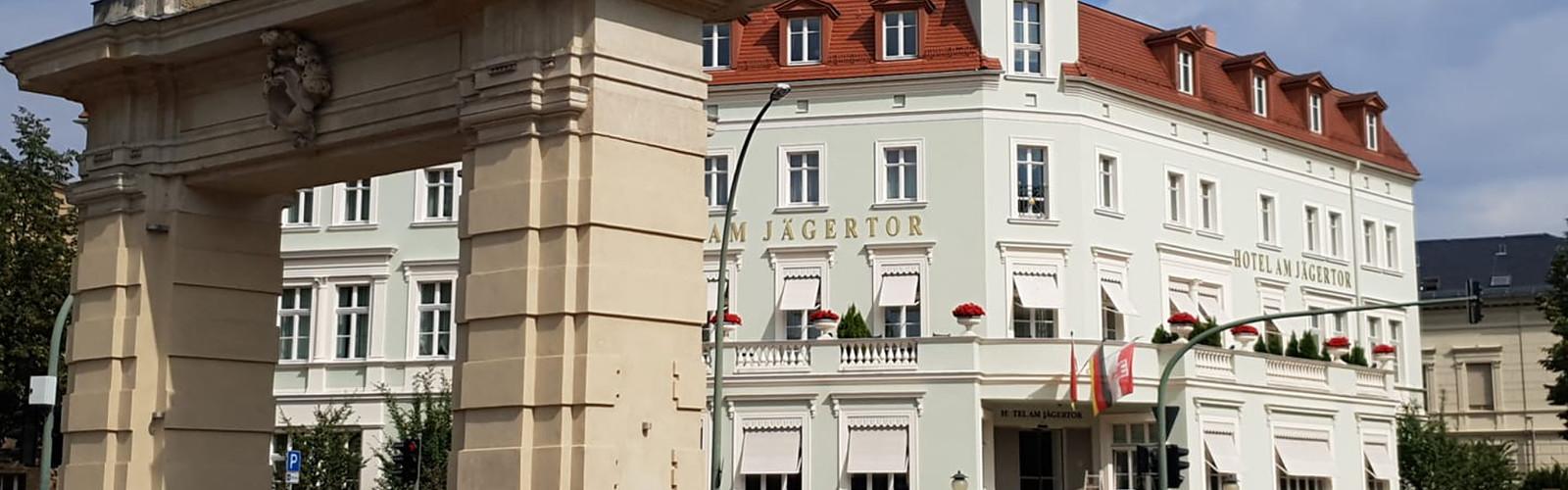 Exterior view Hotel Am Jägertor (c) Hotel Am Jägertor