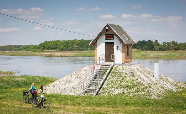 Pegelhäuschen in Ratzdorf, Foto: Seenland Oder-Spree e.V./Florian Läufer