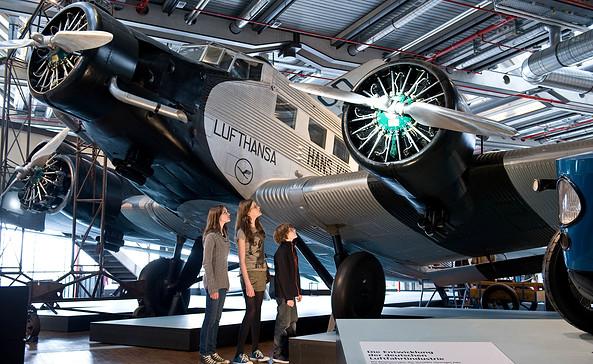 Junker Ju 52 im Deutschen Technikmuseum Berlin, Foto: N. Michalke