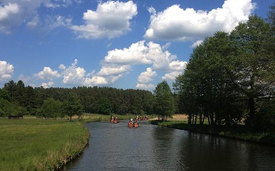 Huckleberrys Tour - Floßstation Neustrelitz