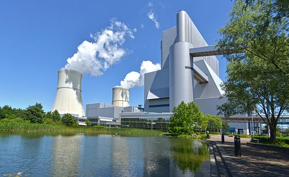 Kraftwerk Schwarze Pumpe, Foto: LEAG Archiv