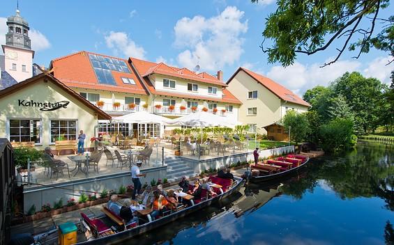 "Restaurants ""Eisvogel"" & ""Kahnstube"" im Spreewaldhotel Stephanshof"