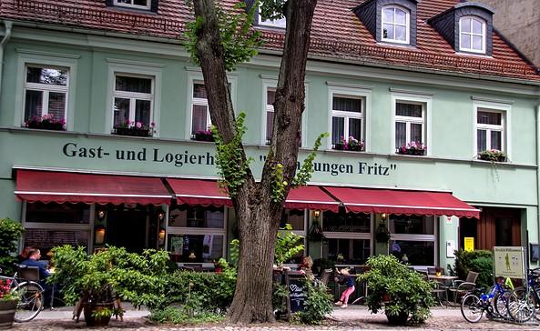"""Gast- & Logierhaus """"Zum Jungen Fritz"""" - Außenansicht, Foto: Rottke"""